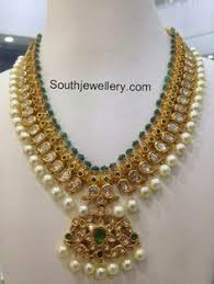 south jewellery designers beautiful diamond necklace indian jewellery designs south