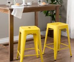 Kitchen Yellow - 18 colorful bar stools for your family kitchen