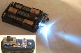 Small Battery Operated Led Lights The Electronic Peasant U0027s Battery Powered Led Lamp Page