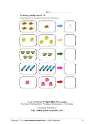 free math worsheets math worksheets for kindergarten and preschool