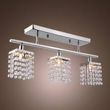 Chandelier Lights Uk by Lightinthebox Linear Chandelier Island Light Crysal 3 Lights
