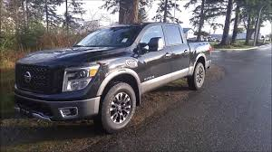 nissan titan with rims 2017 nissan titan pro 4x with luxury package youtube
