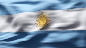 argentina flag stock footage video shutterstock