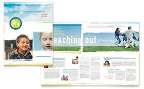special education brochure template word u0026 publisher