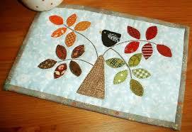 Quilted Mug Rug Pattern Lovely Leaf Quilt Patterns For Spring