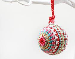 crocheted christmas crochet christmas etsy