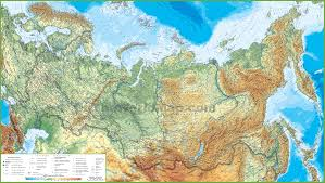Ethnic Map Of Los Angeles by Russia Maps Maps Of Russia Russian Federation