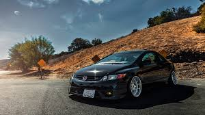 stanced honda honda civic wallpaper qygjxz