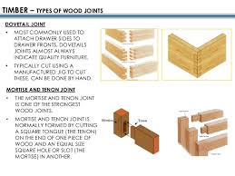 Different Wood Joints And Their Uses by Construction Techniques All Materials
