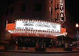 michigan students ascend 5 story singing christmas tree the