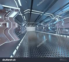 Floor And Decor Jobs Futuristic Design Spaceship Interior With Metal Floor And Light