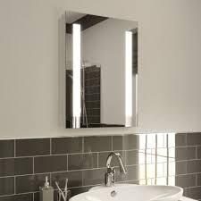 Bathroom Demister Mirror Fayeanna Led Illuminated Bathroom Mirror Ultra Slim With Demister