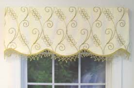 Cornice Valance Window Treatments Cornice Style Valances Patterned Solid Colored