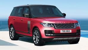 White Range Rover With Red Interior 2018 Range Rover A True Design Icon Land Rover Usa
