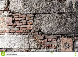 European Home by Pattern Of Stone Wall Structure With Various Foundation And Brick