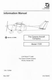 aircraft manuals poh u0026 pim fallon aviation pilot shop