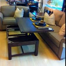 coffee tables that turn into tables making the most of a small multipurpose space hgtv coffee and spaces