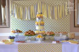 yellow and gray baby shower decorations yellow grey bundle of boy s baby shower spaceships and