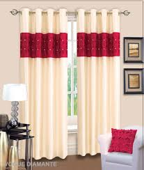 Danielle Eyelet Curtains by Cream And Red Curtains Eyelet Curtains Memsaheb Net