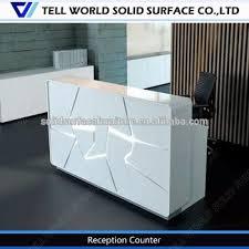Illuminated Reception Desk Color Changing Led Illuminated Beautiful Salon Reception Desk Set