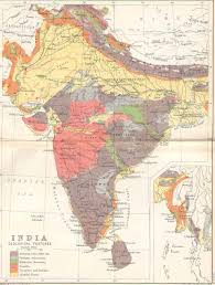 North India Map by Historical Maps Of India