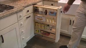 Kitchen Cabinets Spice Rack Pull Out Kitchen Cabinet Pull Out Storage Organizer By Cliqstudios Com