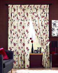 Jacquard Wallpaper Living Room Long Wide And Bay Window Curtains Providing Hard To Get Curtain
