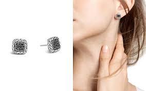 black earrings black earrings bloomingdale s