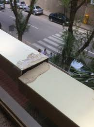 broken balcony rail picture of golden port salou salou