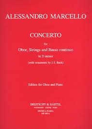 concerto in d minor sheet by allesandro marcello sheet