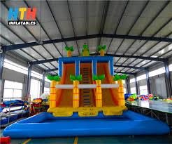 Barney U0027s Backyard Gang Barney by 100 Water Slide Backyard Inflatable Banzai Inflatable Aqua