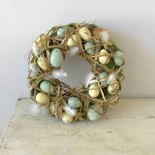 25 easter wreaths to welcome spring to your door in style