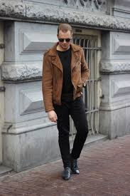 biker jacket men suede biker jacket justkvn menswear and lifestyle blog