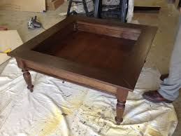 Shadow Box Coffee Table How To Build Glass Top Shadow Box Coffee Table Shadow Box Coffee