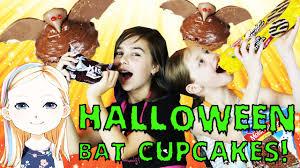 halloween bat cupcakes spooktacular with radiojh audrey youtube