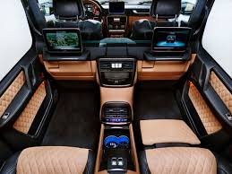 inside maybach mercedes maybach g650 landaulet is the fanciest g wagen ever wired