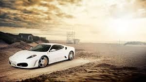 cars ferrari white backgrounds light nature sun sand white cars ferrari sunlight