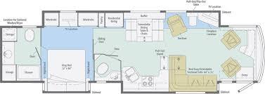 itasca rv floor plans bath and a half floor plan itasca ellipse 42qd itasca