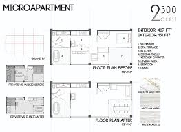 Floor Plan Diagrams Microapartments U2014 Jeremy Morton