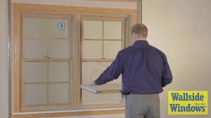 window wallside windows in double hung window treatments and