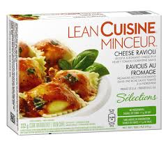 liant cuisine lean cuisine selections cheese ravioli ricotta and romano cheese
