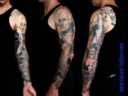 family tree half sleeve meaning thigh design idea for