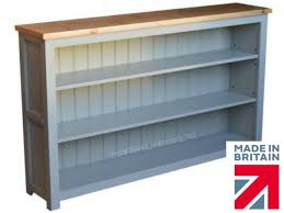 100 solid wood low bookcase bordeaux f u0026b painted 5ft wide low
