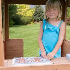 backyard discovery cozy wooden playhouse walmart com