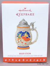 hallmark keepsake 2016 stein ornament ebay