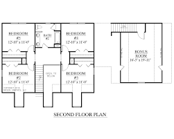 House Plans With Bonus Room Southern Heritage Home Designs House Plan 2341 A The Montgomery