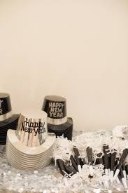 Modern New Years Eve Decorations by Modern White New Year U0027s Eve Wedding In Costa Mesa California