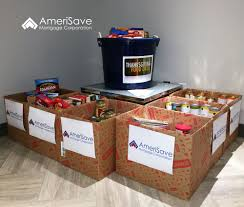 our thanksgiving food drive i amerisave mortgage office photo
