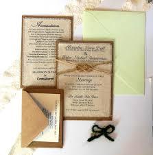 rustic wedding invitation kits 79 best wedding invitations images on boho wedding