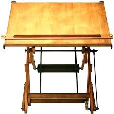 Wood Drafting Table Vintage Drafting Desk Bethebridge Co